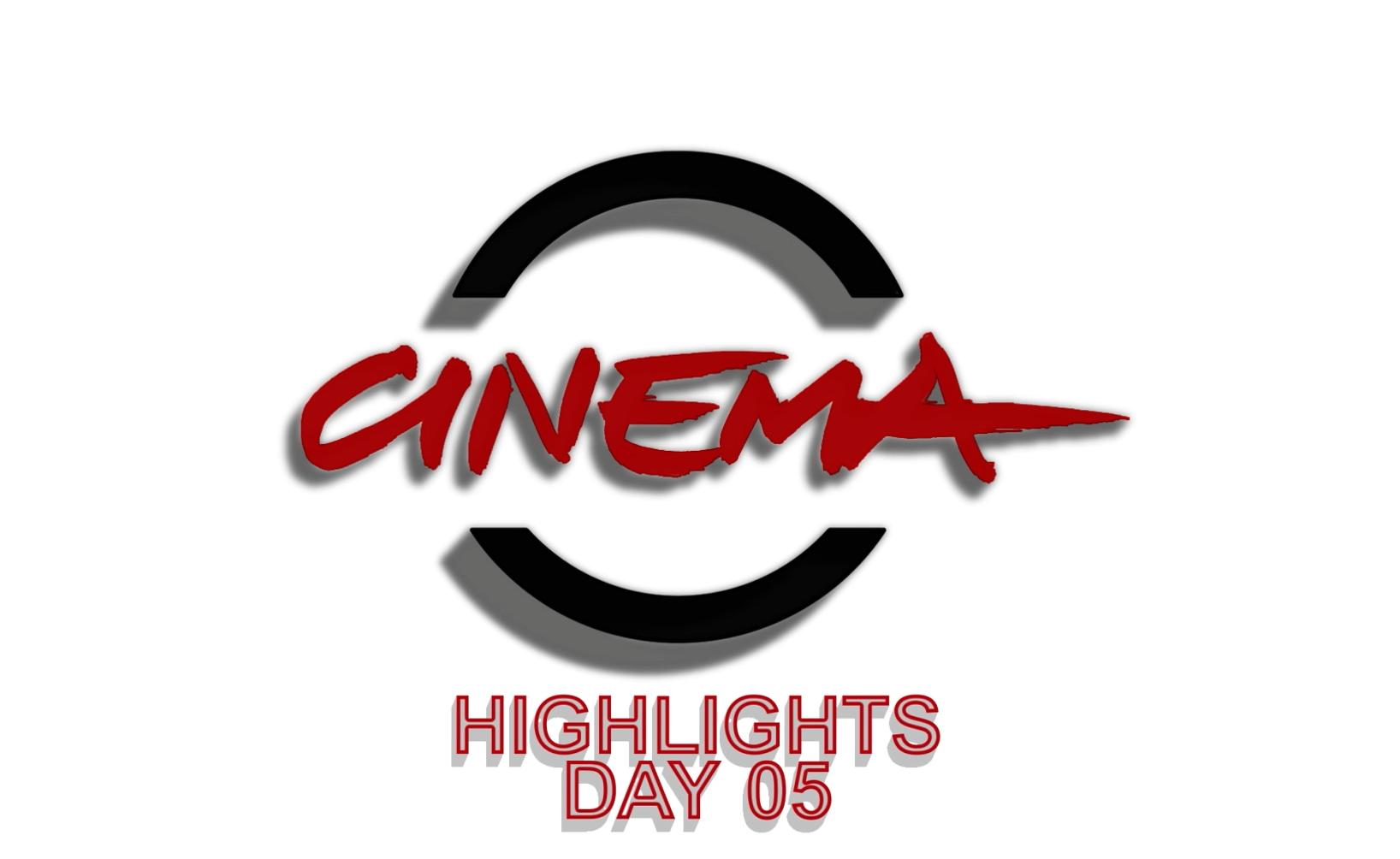 #RomaFF13 | Day05 | Highlights Festa del Cinema di Roma