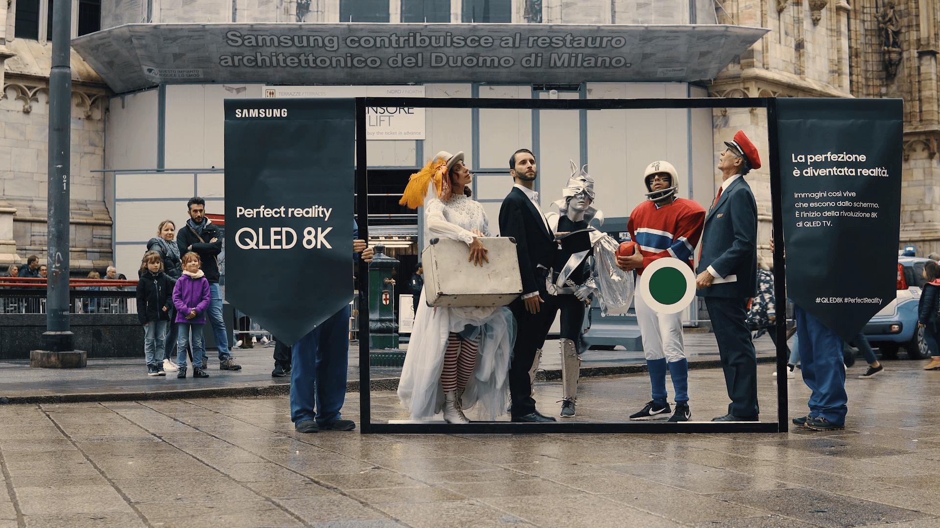 Samsung - Milan Flashmob